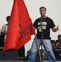 Jebivjetarska - Bandiera rossa