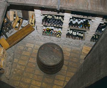 Put u središte zemlje - vinski podrum restorana Kukuriku
