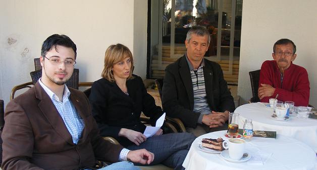 Ernie Gigante Dešković, Adriana Aničić, Tedi Babić i Mario Krizmanić