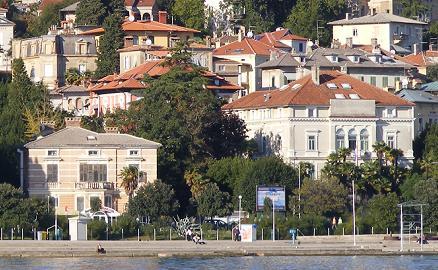 Mala i velika vila Keglević - budući dom grofova Drašković u Opatiji