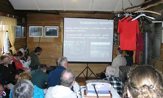 Predavanje o vodozemcima