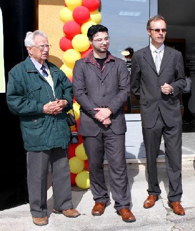 Uvaženi gosti g. Riker i g. Dešković s Eriom Zahirovićem