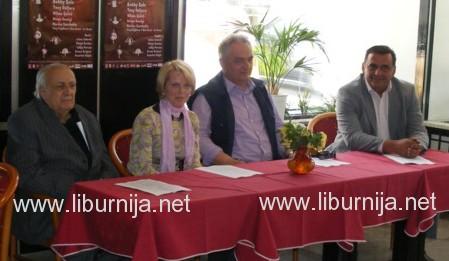Ljubo Kuntarić, Maria Iveković, Valmer Cusma i Nikica Pažin