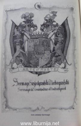 Grb obitelji Sermage