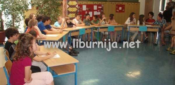 Natjecatelji Osnovne škole Drago Gervais - Brešca