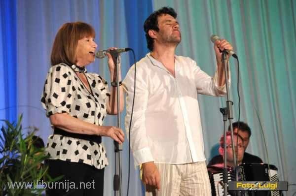 Lidija Percan i Alen Vitasović