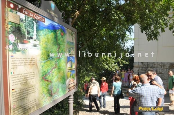 Liburnija.net: Prva poučna ploča @ Veprinac