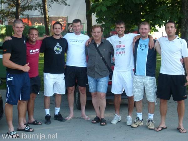 Igor Aničić, Vilim Višak, Goran Popović, Ivan Cerović, Milan Aničić (voditelj ekipe), Matej Stakne, Vanja Turajlić i Ivor Eržišnik