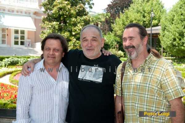 Liburnija.net: Tonči Grabušić (bubanj), Đorđe Balašević i Elvis 'Šmi' Stanić... polovica benda iz osamdesetih na okupu...