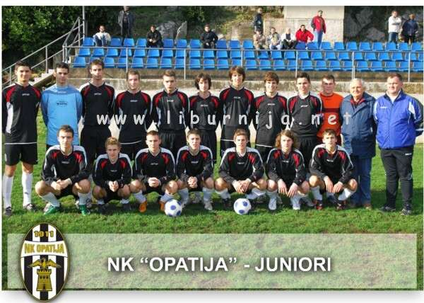 Liburnija.net: Nogometni klub Opatija - Juniori