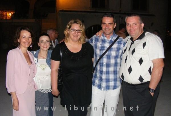 Liburnija.net: Ines Greblo, Renata Sabljak, Ksenija Čovo, Đani Stipaničev i Krunoslav Čovo