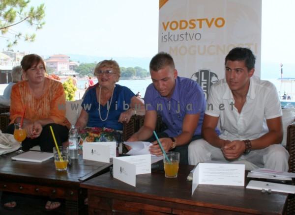 Liburnija.net: Dana Gregurić,  Žuži Jelinek, Andrej Ptičar i Davor Dujmić