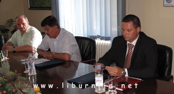 Miljenko Ujčić, Ivo Dujmić i Kristijan Staničić