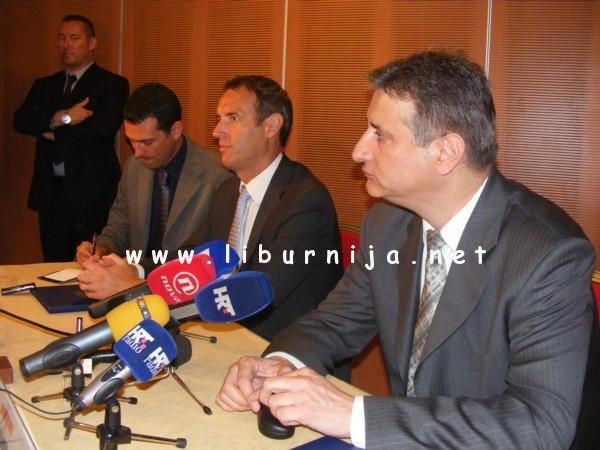 Liburnija.net: direktor Europola Rob Wainwright i ministar unutarnjih poslova RH Tomislav Karamarko