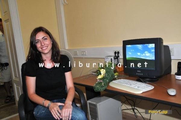 Liburnija.net: Marijana Zorić na svom radnom mjestu!