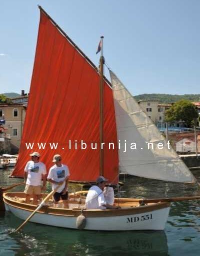 Liburnija.net: 2. Smotra i regata tradicijskih bakri na jedra @ Mošćenička Draga