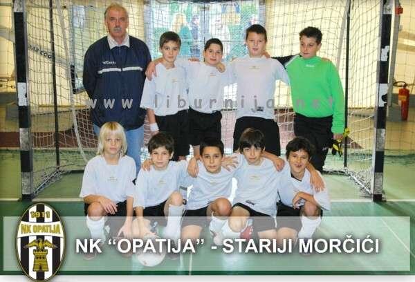 Liburnija.net: Nogometni klub Opatija - Stariji Morčići