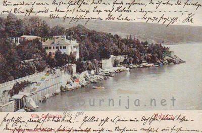 Liburnija.net: Pogleda prema istočnom djelu... Vila Minach i punta Bunker