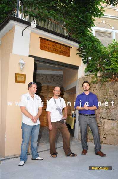 Liburnija.net: Silvano Martinčić Salpa, Marin Aničić i Ernie Gigante Dešković @ Opatijski portun