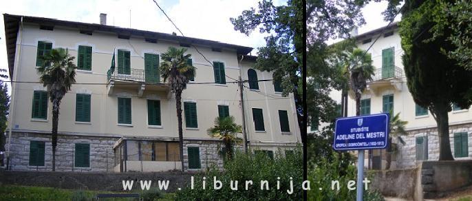 Liburnija.net: Nekad bolnica, zatim rodilište, a danas Osnovna škola Rikard Katalinić Jeretov @ Volosko