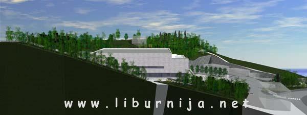 Liburnija.net: Predstavljeno idejno rješenje dvorane @ Opatija