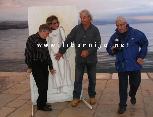 Liburnija.net: Edi, Silvana i Dule... modele namješta Nikola Turina @ Opatija