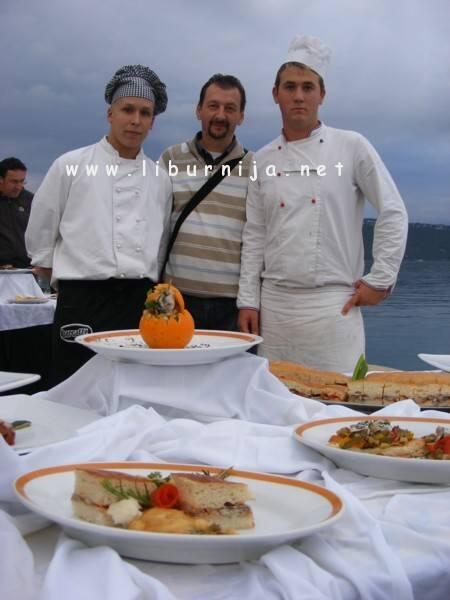 Liburnija.net: Damjan Miletić sa svojim učenicima @ Opatija