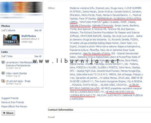 Liburnija.net: Sporne Facebook grupe dogradonačelnika Deškovića po mišljenju Akcije mladih...