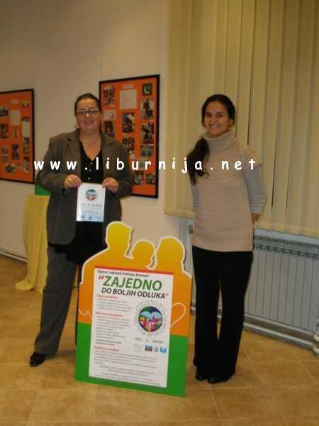 Liburnija.net: Sanja Škorić i Ana Kola @ Laurus, Lovran