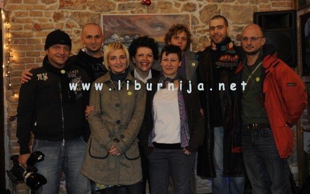 Liburnija.net: Davor Vučetić, Zoran Jozić, Tanja Slavić, Srđana Jevtić, Ana Dragoslavić, Marko Flego, Nikica Karas i Marin Aničić – dio članova udruge AKT