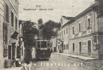 Liburnija.net: Prolazak tramvaja kroz Iku...