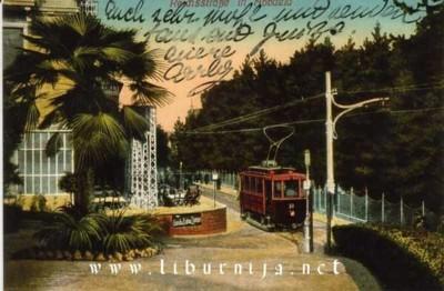 Liburnija.net: Prolazak tramvaja ispod Mandrie...