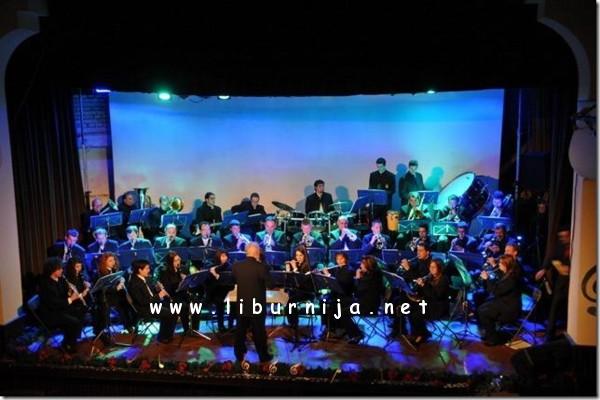 Liburnija.net: Puhački orkestar Lovran na prošlogodišnjem Novogodišnjem koncertu...