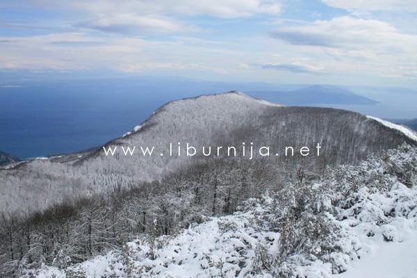 Liburnija.net: S Vojaka zimi @ Park prirode Učka