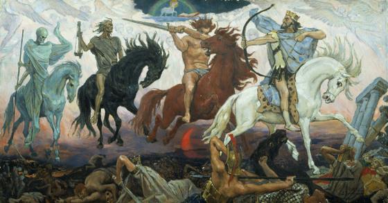 Liburnija.net: Četiri jahača apokalipse (Po Ivanovom Evanđelju)