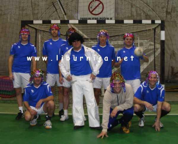 Liburnija.net: Maškarani malonogometni humanitarni turnir - Ekipa grada Opatije @ Opatija