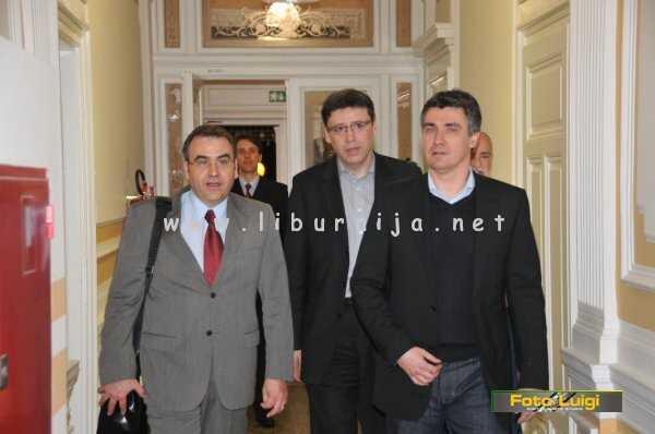 Liburnija.net: Viktor Peršić, Željko Jovanović i Zoran Milanović @ Opatija