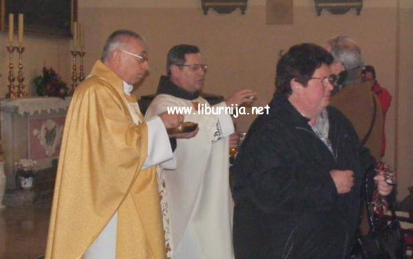 Liburnija.net: Koncelebrirana misa koju je predvodio nadbiskup Ivan Devčić @ Volosko