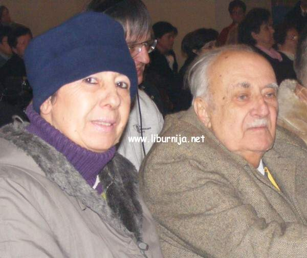 Liburnija.net: Ljubo Kuntarić u društvu kćerke Đurđice @ Volosko