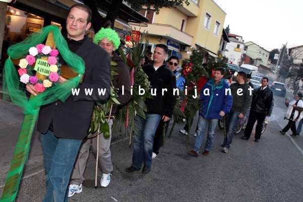 Liburnija.net: Pusna pogrebna povorka @ Matulji