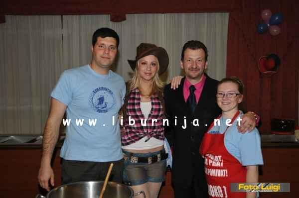 Liburnija.net: Kulturni front, Martina Majerle i Damjan Miletić @ Pusni maneštra fest, Opatija