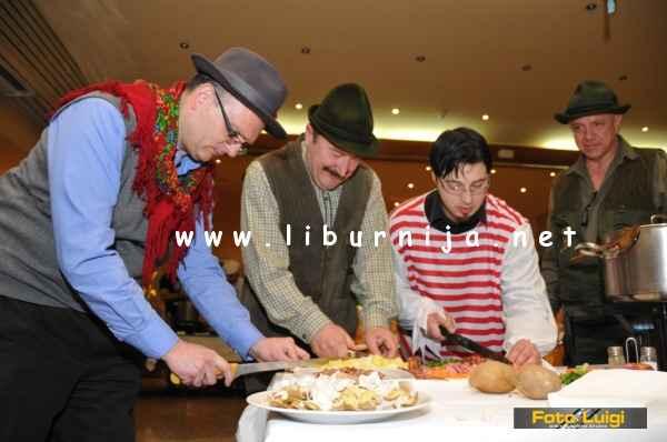 Liburnija.net: Roberto Žigulić, Dušan Mušćo, Ernie Gigante Dešković i Goran Ivančić @ Pusni maneštra fest, Opatija