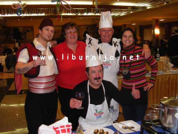 Liburnija.net: Nikola Peršić, Elio Pisak i ekipa iz Društva 'Naša djeca' Opatija @ Pusni maneštra fest, Opatija