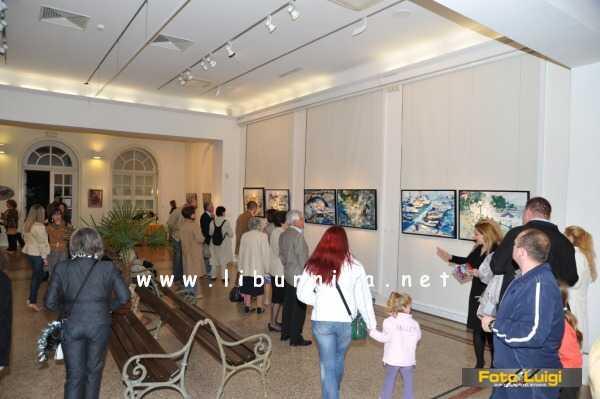 Liburnija.net: Otvorenje izložbe Ede Mihovilić @ Opatija
