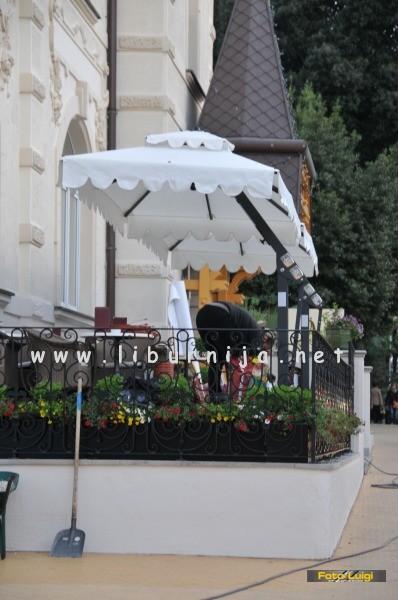 Liburnija.net: Uređenje terase @ Hotel Agava