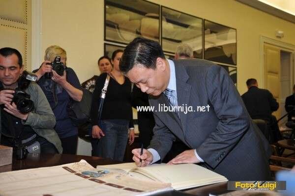 Liburnija.net: Posjet kineskog veleposlanika @ Opatija