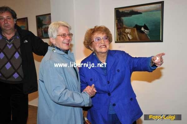 Liburnija.net: Žuži Jelinek u galeriji Laurus @ Lovran
