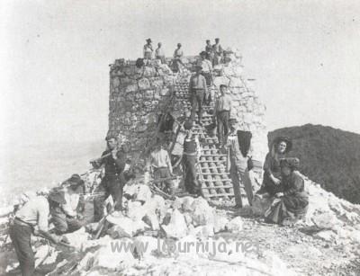 Izgradnja kule na Vojaku