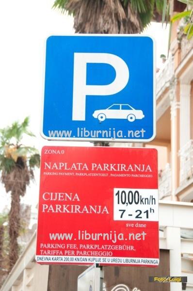 Liburnija.net: Promjena režima naplate parkinga @ Opatija