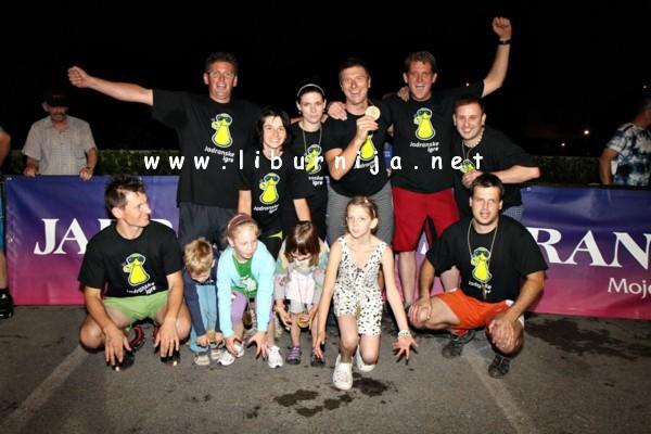 Liburnija.net: Pobjednici - ekipa Vlahov breg @ Jušići